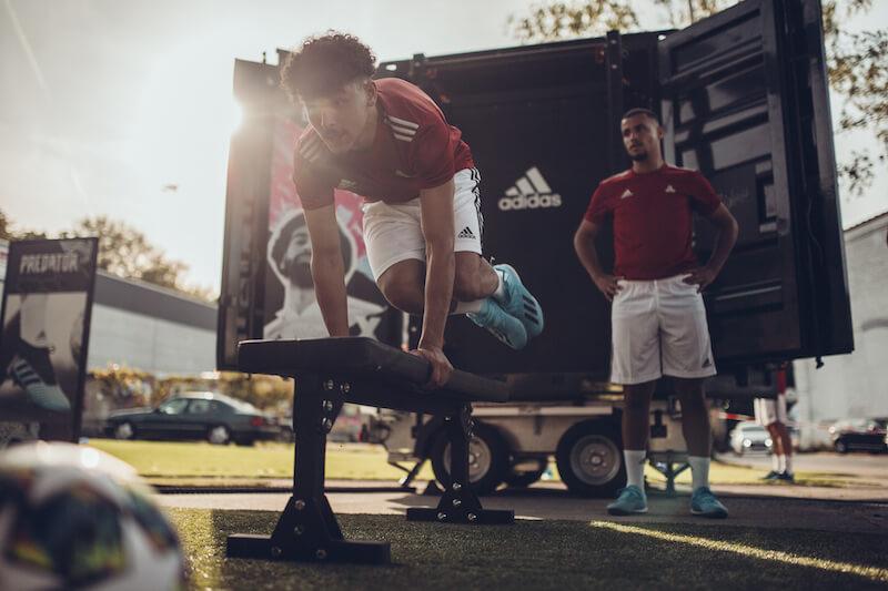 GainCube Fußball Adidas